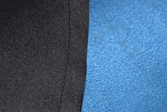 A completed french seam